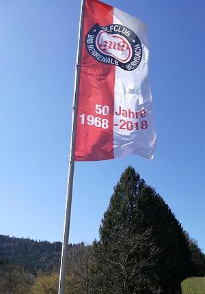 Fahne Jubiläum