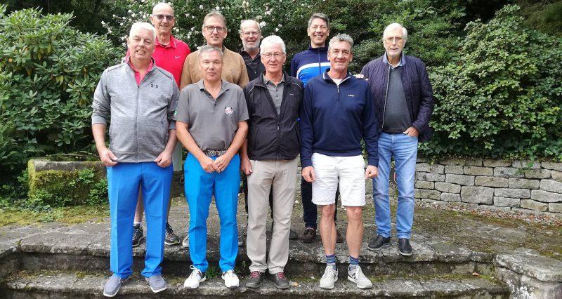 Unsere Mannschaft AK50 7. September 2019 Baden-Baden