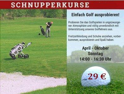 Schnupperkurse 2017 im Golfclub Bad Herrenalb